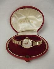 Circa 1961 9ct Yellow Gold Ladies Omega Wrist Watch