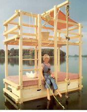 Piratenbettbett bauen, Baupläne für Abenteuerbett Spielbett Gullibo A1