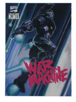 2018 Upper Deck Marvel Masterpieces War Machine What If? Card Bianchi 58/1499