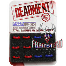 G5 Broadhead Deadmeat 3 Blade 100 Grain Retention Collars 861 #00631