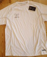 Rugbytech Technical T shirt white Large boys