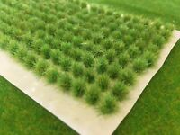 Spring Tall & Small Wild Tufts - Model Scenery Grass N-Gauge Railway wargames