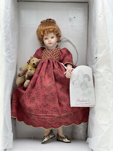 Alexandra by Pauline Bjonness Jacobsen, Porcelain Doll 30cm, 12' Mint, Limited