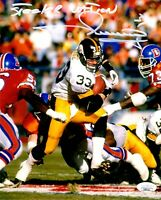 Merrill Hoge autographed signed inscribed 8x10 photo Pittsburgh Steelers JSA COA