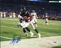 Tony Martin Signed 8x10 Photo PSA/DNA COA ATL Falcons Football Picture Autograph