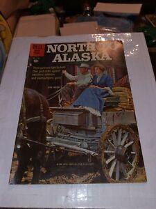 DELL NORTH TO ALASKA COMICS 1960 four color 1155 JOHN WAYNE'S 26 BAR RANCH photo