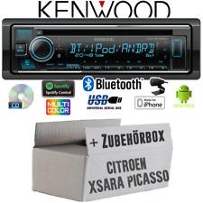 Kenwood radio para citroen xsara picasso Bluetooth Spotify cd/mp3/usb kit de integracion