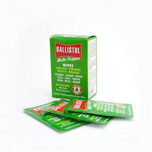 Ballistol Multi-Purpose Tool Oil Pads / Individual Wrap - 10 Pack  Made In USA