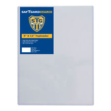 20 Saf-T-Gard 9 x 12 Single Sheet RIGID TOP LOADER HOLDER #9012