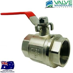 """Brass Ball Valve - F&F Full Bore - Lever Operated - 15mm - 100mm (1/2x4"""")"""