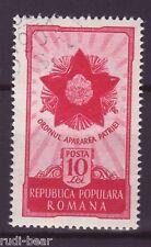 Rumänien Nr.  1275  gest.  Orden der Landesverteidigung   -1