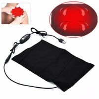 USB Electric Heating Pad 3 Gear Adjusted Temperature Thermal Vest Jacket Cloth