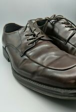 Reaction by Kenneth Cole Brown Leather Lace Up Dress Shoes Size 10