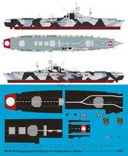Peddinghaus 1/700 Graf Zeppelin Aircraft Carrier Markings with Wooden Deck 3434