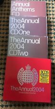 MINISTRY OF SOUND THE ANNUAL 2004 LIMITED EDITION 3 CD BOX SET