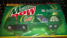 Golden Wheel Die Cast & Plastic Vintage Mountain Dew Truck Hauler Unopened