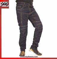 Motorcycle Kevlar denim Jeans Reinforced With DuPont™ Kevlar®