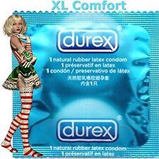 Lot de 24 préservatifs ♡ DUREX XL POWER COMFORT ♡ Plus larges plus longs