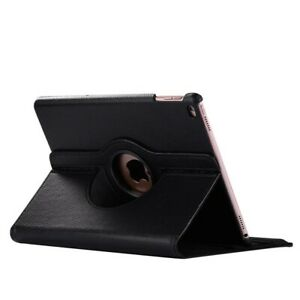Leather 360 Rotating Smart Stand Case Cover For Apple iPad Pro12.9 2018-20 Black