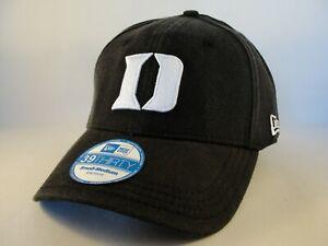 Duke Blue Devils NCAA New Era 39THIRTY Flex Hat Cap Size S/M Black