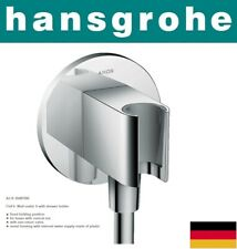 Hansgrohe Fixfit Porter S 26487000 Wall outlet S with shower holder NIB