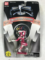 "1995 Ban Dai Mighty Morphin Pink Power Rangers Movie Figure 3"" Asst 2448 NOS"