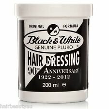 BLACK & WHITE PLUKO ORIGINAL FORMULA POMADE WAX