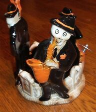 NEW RETIRED YANKEE CANDLE 2015 Boney Bunch Boos Brothers Jar Candle Holder