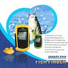 Lucky Portable Wireless Fishfinder 90 degrees beam Angle Sensor 40M/130FT Sonar