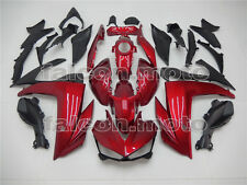 Red Black Injection ABS Plastic Body Kit Fairing Fit for Yamaha R3 R25 2014-2016