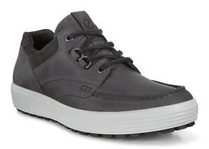 ECCO Men's Soft 7 Tred Shoes Moonless Sizes 43 - 47 / FREE SHIPPING / NEW