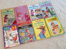 LOT OF 8 CHILDREN'S CHAPTER BOOKS Junie B. Jones,Jigsaw Jones,Magic School Bus