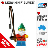 LEGO® Minifigures™ - Lawn Gnome with Fishing Rod (1 of 16) Series 4 - BRAND NEW