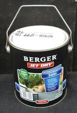 BERGER BY DULUX 2 LITRE JET-DRY PAVING SATIN WATER-BASE FERRIC-RED COLOUR PAINT