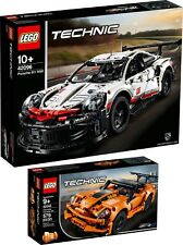 LEGO Technic Porsche 911 RSR 42096 42093 Chevrolet Corvette ZR1 N1/19