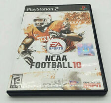 NCAA Football 10 (Sony PlayStation 2, 2009) Used in Case
