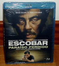 ESCOBAR PARAISO PERDIDO BLU-RAY NUEVO PRECINTADO ACCION THRILLER (SIN ABRIR) R2
