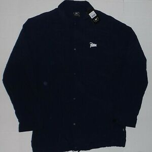 Patta Elongated Large Logo Navy Coach Jacket sz XL NWT