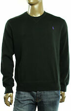 New Mens Polo Ralph Lauren Crew Neck Combed Cotton Pullover Sweater Sweatershirt