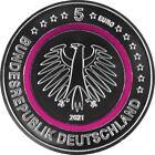 Polare Zone ◾ Karlsruhe G ◾ 5 € Euro Münze 2021 Deutschland UNC / Stempelglanz  <br/> ✿ SOFORT LIEFERBAR ◾ KOSTENLOSER VERSAND ✿