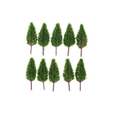 10pcs/Set 68mm Plastic Model Trees For Park Street  landscape Scene Scenery Tg