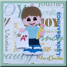 STAR STUDENT BOY  Embellishment card toppers and scrapbooking