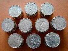2 1/2 Gulden x 50 +  1 Gulden x 100  NL, 720er Silber,Königin Juliana,1 kg pur