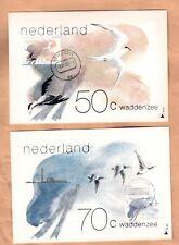Maxi cards set Netherlands 1982 Maximum card Birds
