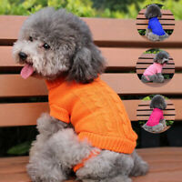 Winter Dogs Chihuahua Clothes Puppy Pet Cat Sweater Jacket Coat For Small Dogs