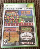 NAMCO MUSEUM Platinum Hits - Microsoft Xbox - Brand NEW & still factory SEALED