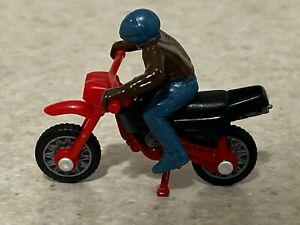 Matchbox 1999 Red Dirt Bike - Loose