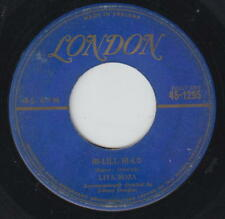 Lita Roza 45rpm London Gold Lettering 1295 Take Care Of Yourself/Hi-Lili, Hi-Lo
