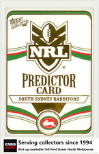 2006 Select NRL Invincible Cards Unredeemed Predictor Card PC12 Rabbioths