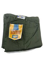 SFA Vtg OshKosh BGosh Green Denim Sanforized western boot jeans  36 Xl